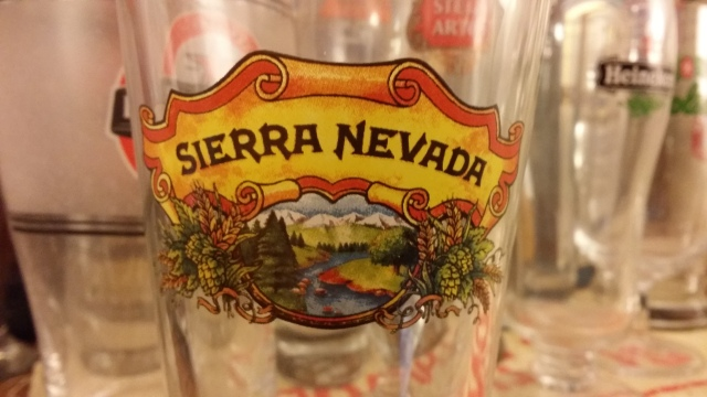 Sierra Nevada Beer Glass
