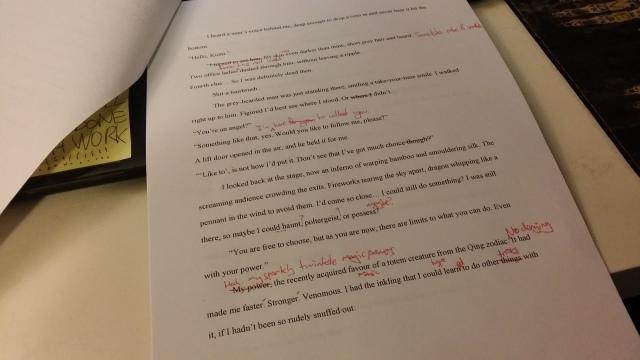 short story editing