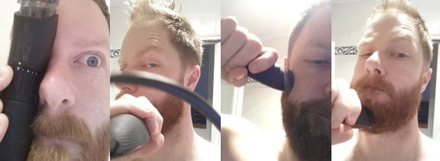 beard clipping
