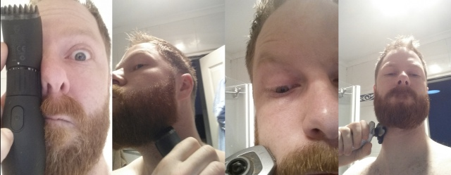 beard trimming compilation