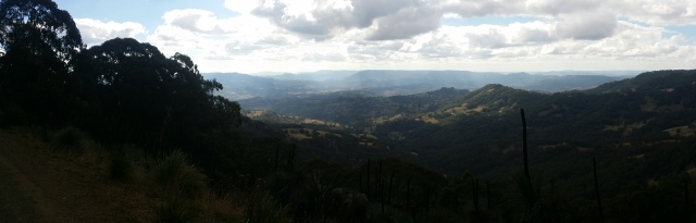 Panorama of the Barrington tops