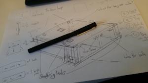 4X4 shelf / bed plans