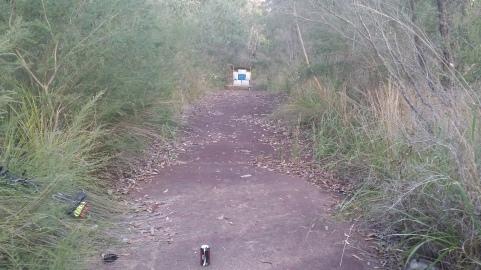 The archery range